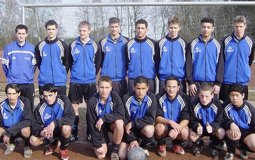 B1 Junioren - Saison 2002/2003
