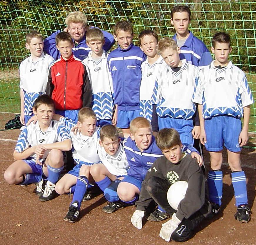 D2 Junioren - Saison 2002/2003