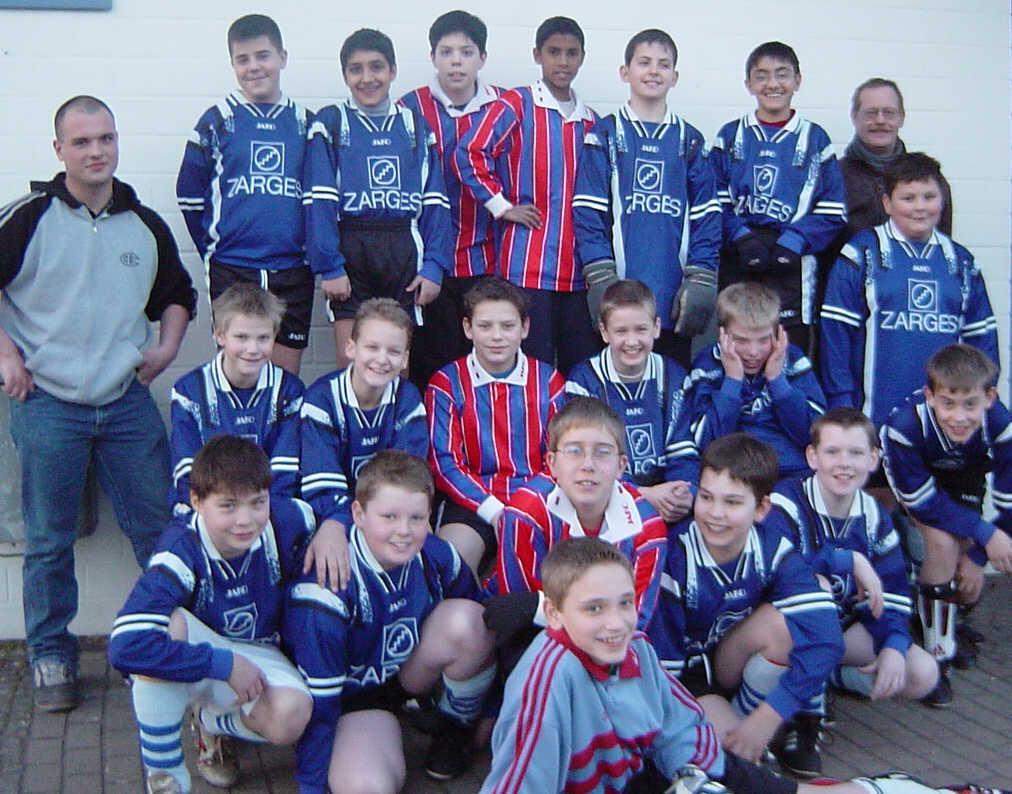 D3 Junioren - Saison 2002/2003