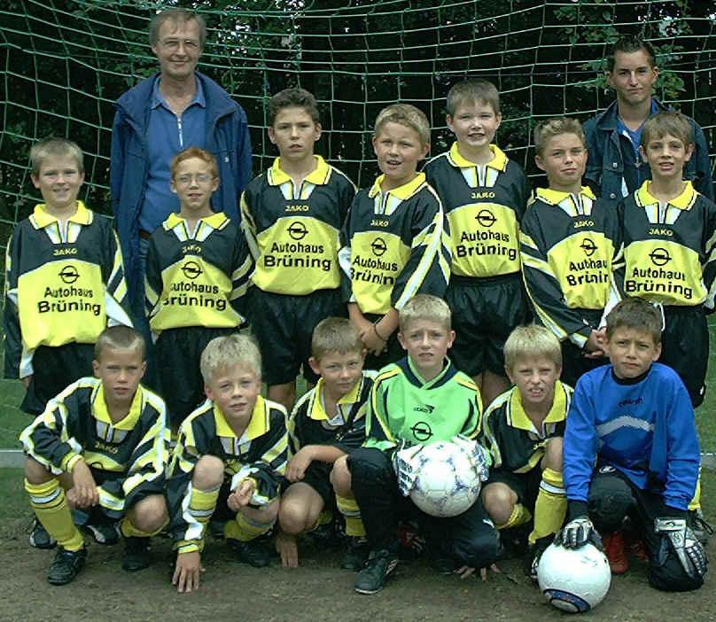 E2 Junioren - Saison 2002/2003